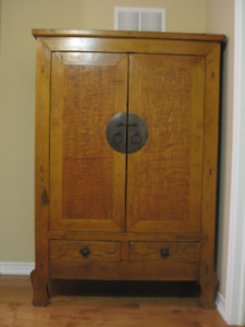 Genuine Chinese Armoire Cabinet circa 1890 from GreenTea Design