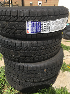 4 Brand New, Never Driven, Winter Tires( Sticker Still on)