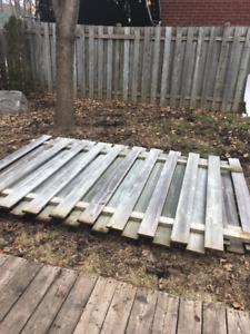 Sections de clôture