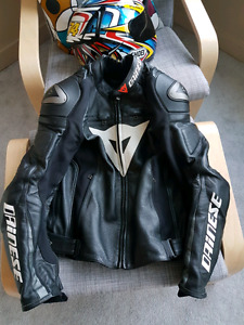 Dainese Super Speed C2 leather perforated jacket