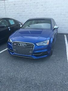 2016 Audi S3 TECHNIK, SEPANG BLUE, RARE, FINANCING AVAILABLE