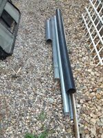 PVC and Galvanized Steel Pipes