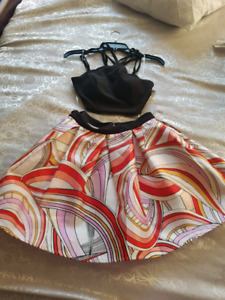 brand new with tags 2 piece dress
