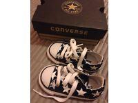 Converse infant uk 5 £10