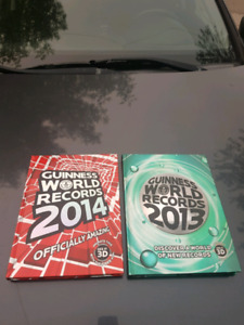 Guinness world records 2014 and 2013