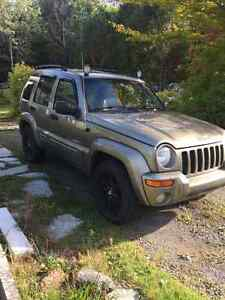 Jeep Liberty 2004 full équipe