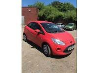 2009 Ford Ka 1.2 Style + lovely colour salmon red +72k