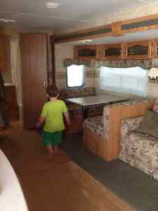 Privately Renting our  27ft Camper with Slide Out