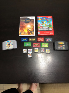 Various Nintendo Games for Sale