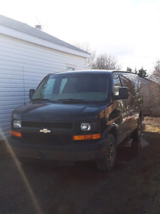 2004 2500 chevy express for trade
