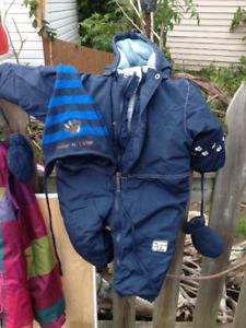 Costume Hiver pour petit bonhomme - 12 mois