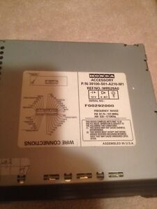 Honda radio for 2000 honda civic Strathcona County Edmonton Area image 4