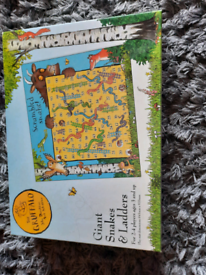 The Gruffalo giant snakes and ladders game