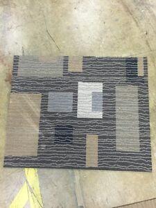 3x3 square modular carpet tile great condition  Kitchener / Waterloo Kitchener Area image 1