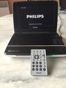 """Philips 9"""" portable DVD player"""