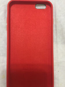 Red cover iPhone 6s Plus
