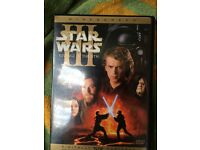STAR WARS III REVENGE OF THE SITH R1, DVD