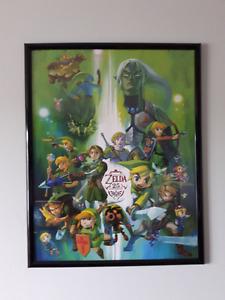 The Legend of Zelda Club Nintendo Posters Framed