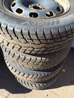 Four 185/65R15 winter tires, in good Conditions.