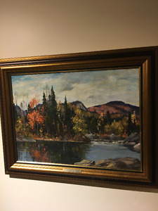 Thomas H Garside Canadian Oil Painting