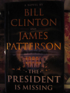 The President is Missing, Clinton and Patterson