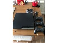 Slimline PS3 controllers and games