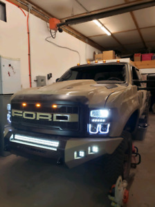 Lifted Ford Superduty
