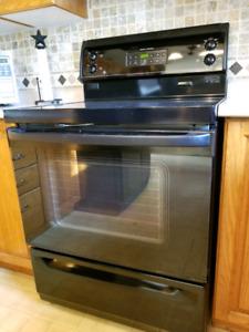 Electric range, range hood, dishwasher for sale.