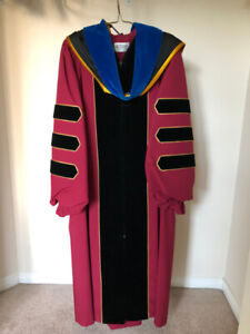 PhD gown and hood from Univ of Minnesota