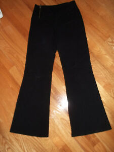 Girls black dress pants from Le Chateau (junior med size)