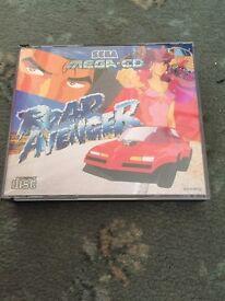 Sega mega CD road avenger classic retro game. Megadrive?