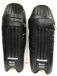 Black Ash*Black Gold*cricket batting pads leg guards top quality