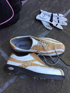 Ladies Ecco Golf shoes (size 7)  & golf apparel (skirts size 8)