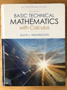 Basic Technical Mathematics with Calculus Hardcover 10th Edition