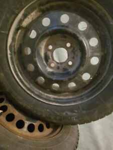 Snow tires (studded)