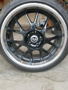"19"" rims and tires $1000 OBO"