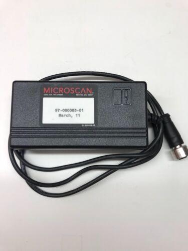 MICROSCAN # 97-000003-01 (QX-830) POWER SUPPLY, USED