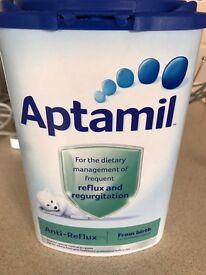Aptimel reflux & regurgitation formula (opened)