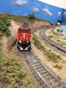 HO Train Layout ** Reduced Price**