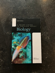 A Short Guide to Writing About Biology 8th edition
