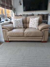 Stunning 2 seater leather sofa