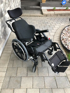 "20""x20"" ExtremeTilting Wheelchair"