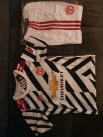 Manchester United replica kids 20/21 third kit