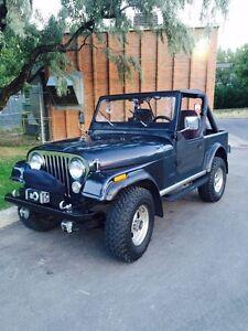 1983 Jeep CJ renegade