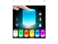 Bluetooth lamp speaker