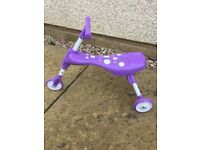 Skuttle Bug - 3 wheel ride-on toy