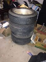 4 tires with rims 225/70 R16