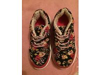 Girls infant size 10 trainers