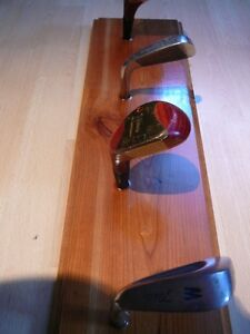 Golf Club Coat Rack For Man Cave