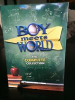 **unopened** Boy Meets World the complete series
